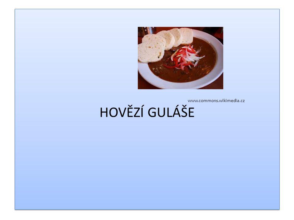 Charakteristika masa krájeného na kostky Připravujeme: 1.