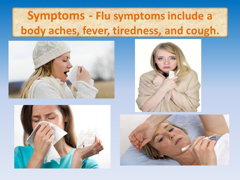 What would you recommend someone with a cold / the flu.