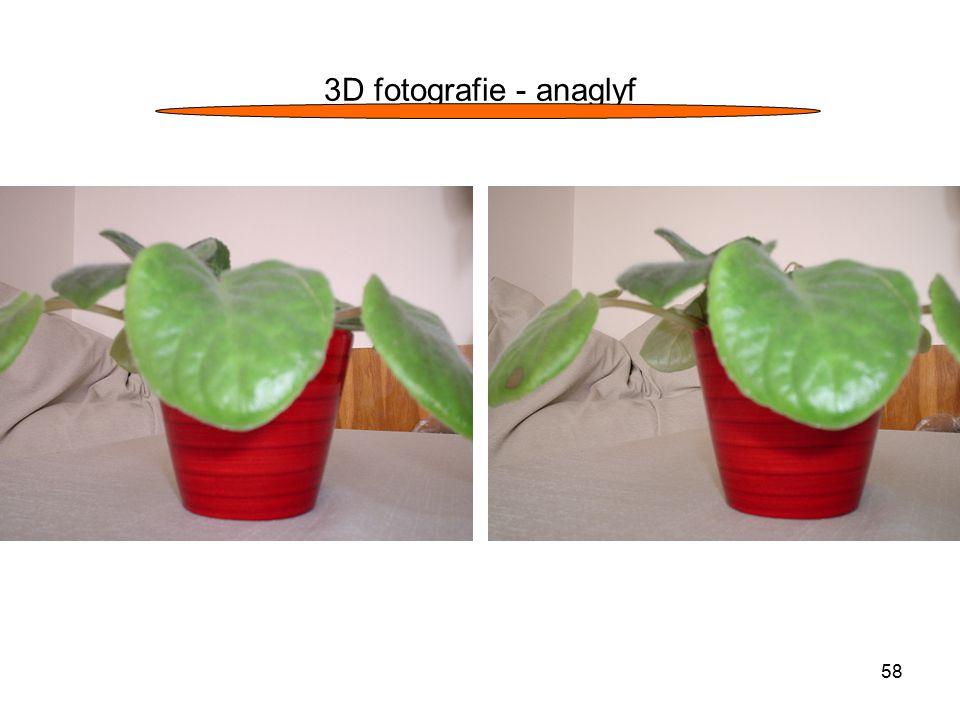 58 3D fotografie - anaglyf