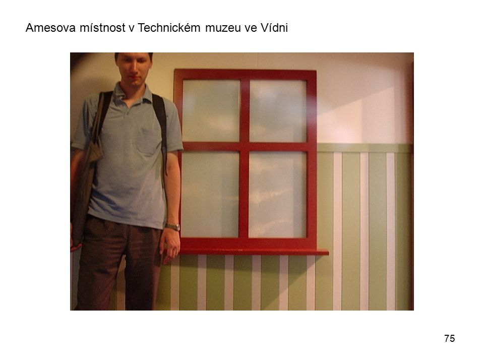75 Amesova místnost v Technickém muzeu ve Vídni
