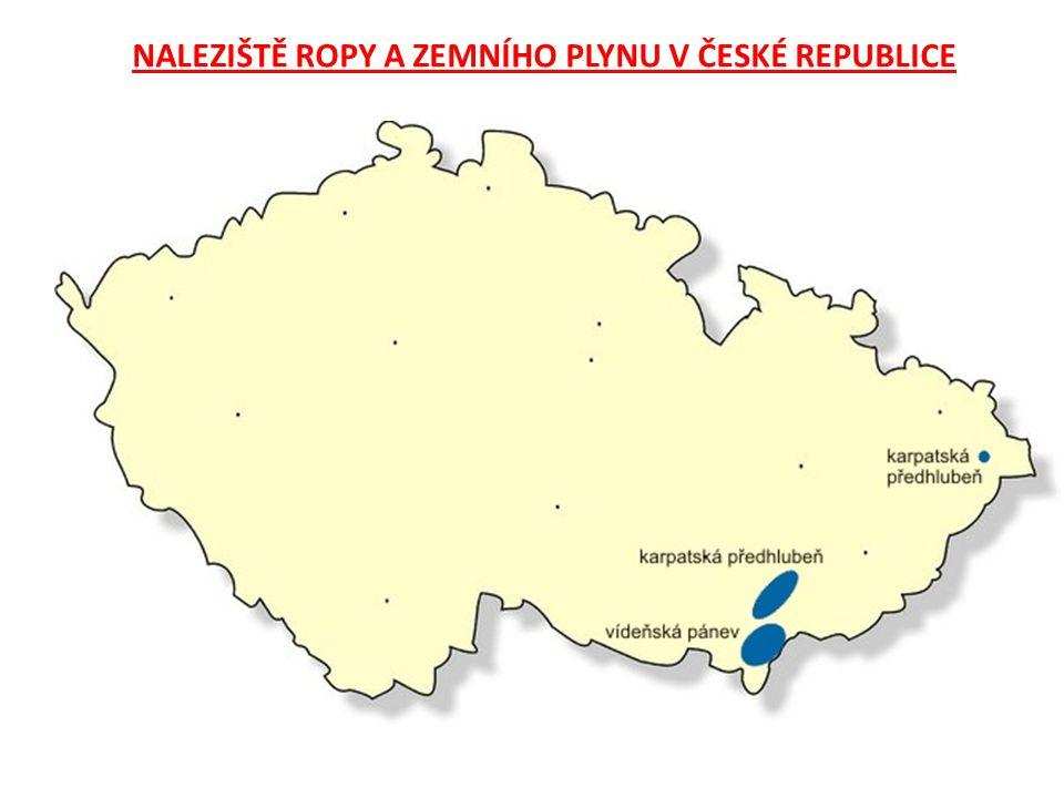 NALEZIŠTĚ ROPY A ZEMNÍHO PLYNU V ČESKÉ REPUBLICE