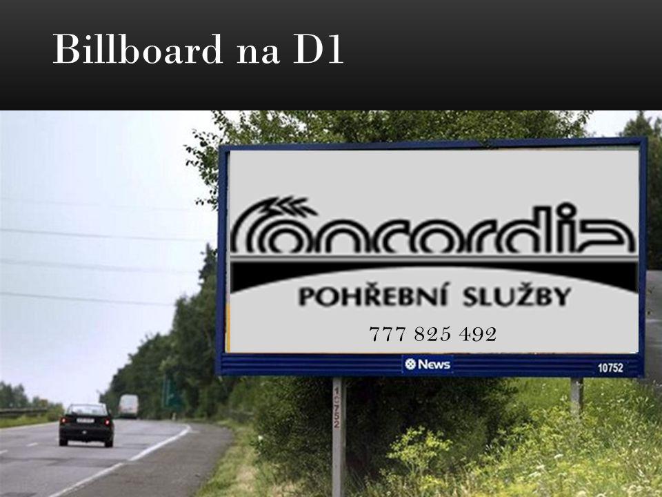 Billboard na D1 777 825 492
