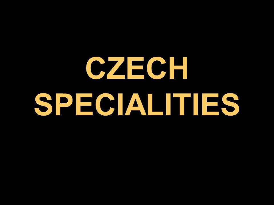 CZECH SPECIALITIES