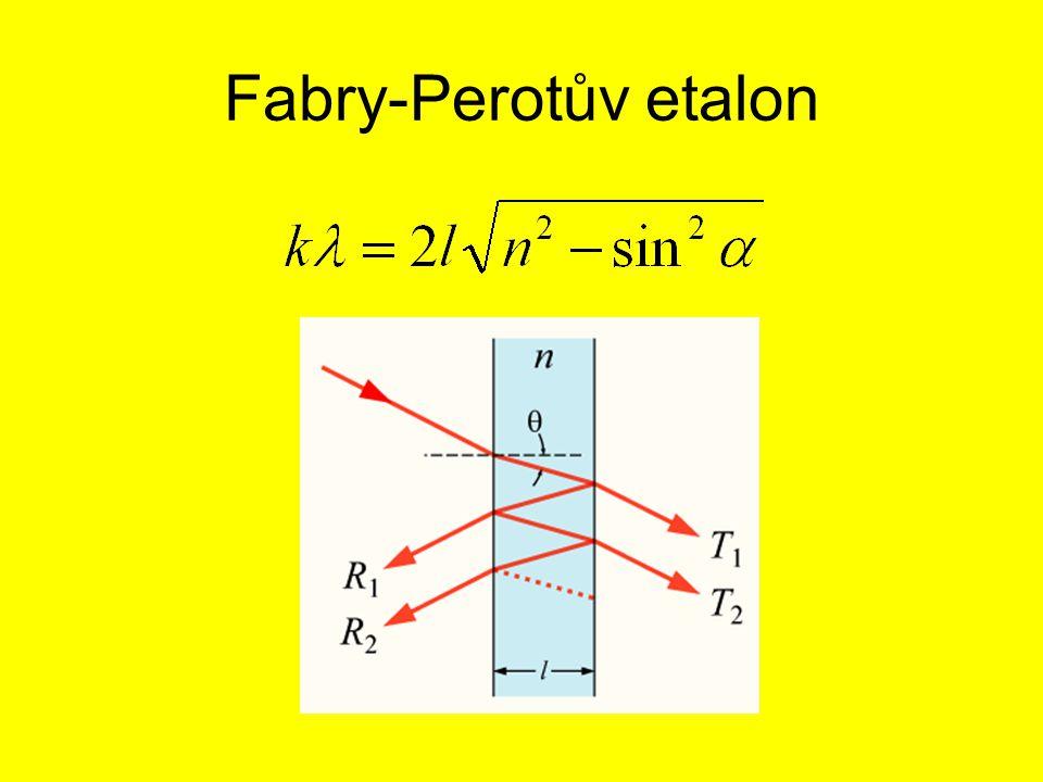 Fabry-Perotův etalon