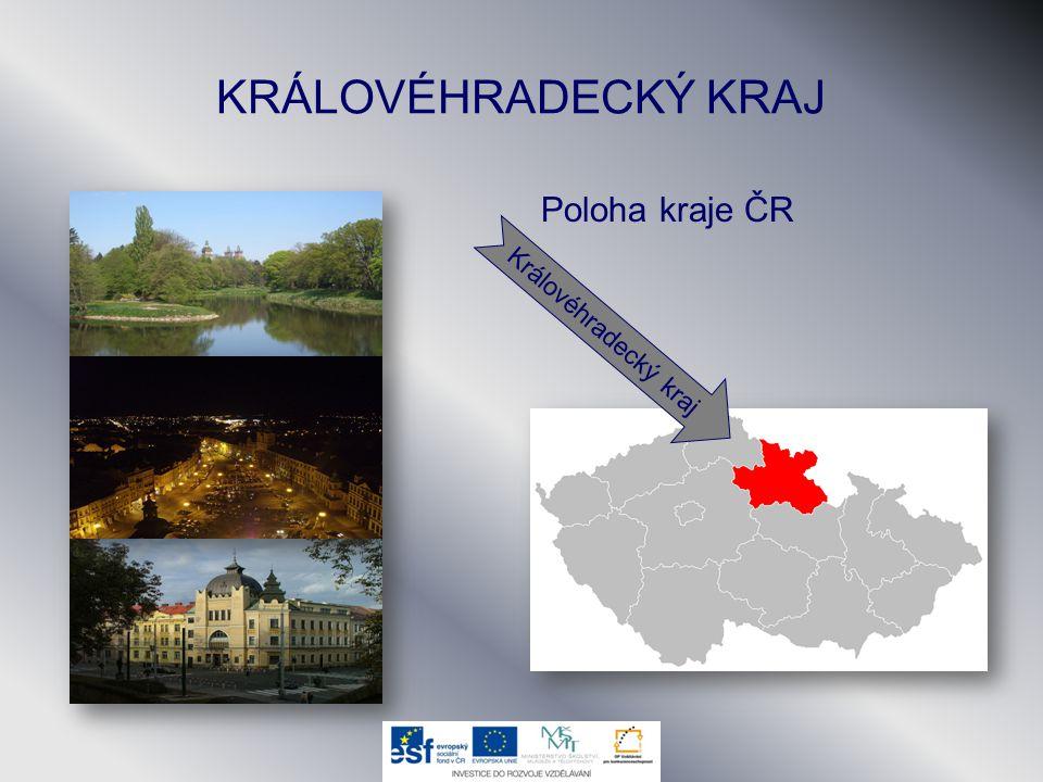 KRÁLOVÉHRADECKÝ KRAJ Poloha kraje ČR Královéhradecký kraj