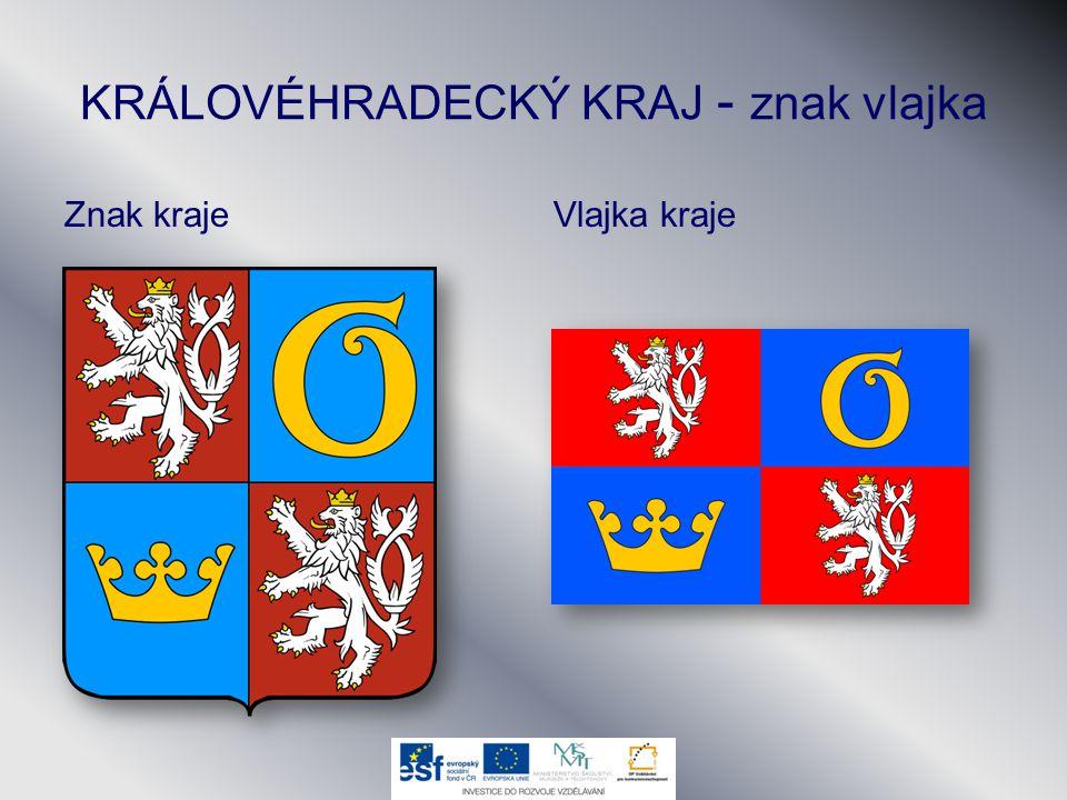 KRÁLOVÉHRADECKÝ KRAJ - znak vlajka Znak krajeVlajka kraje