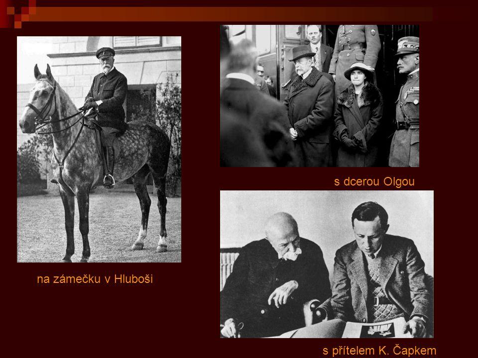 Masaryk byl nesmírně milován téměř všemi lidmi.Na jeho pohřeb 21.