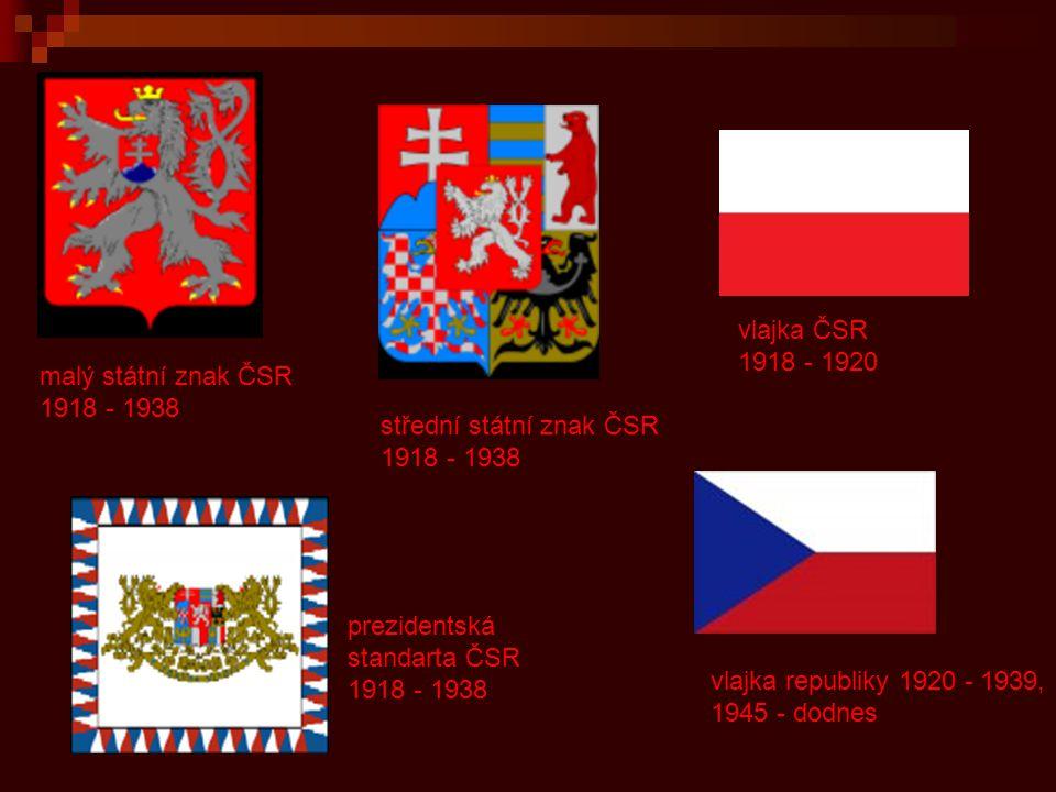 Návrhy vlajky ČSR