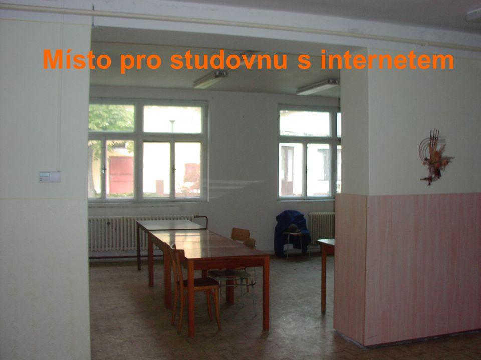 Místo pro studovnu s internetem