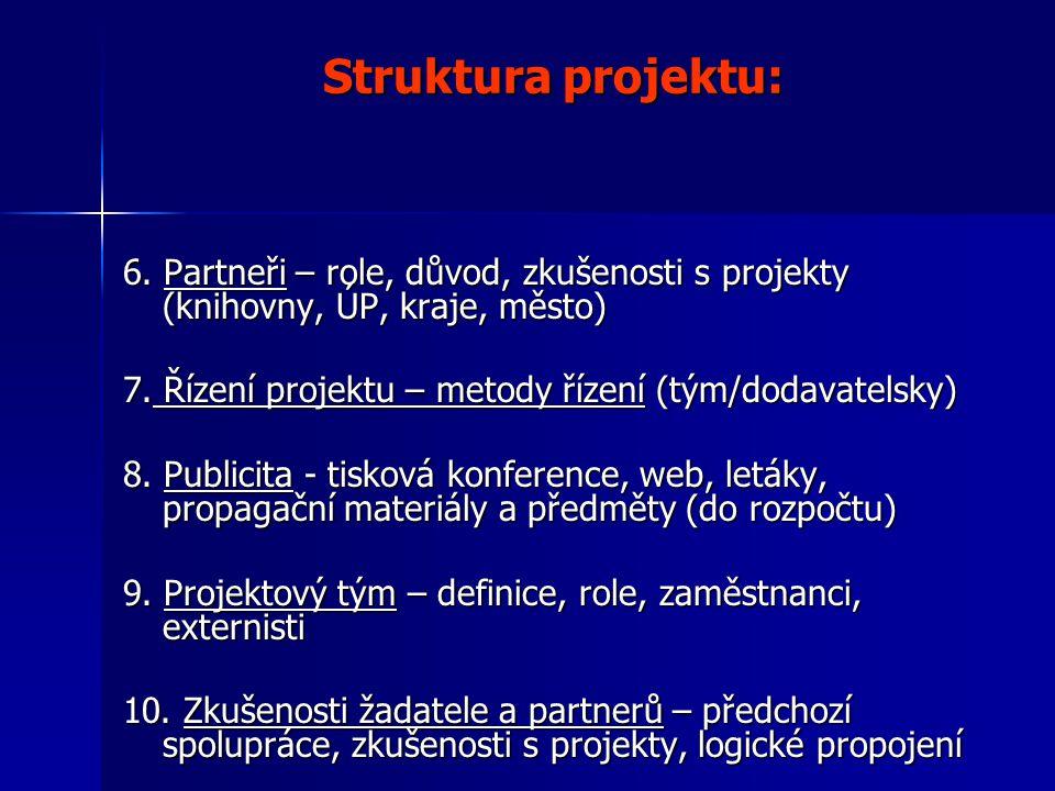 Struktura projektu: 6.
