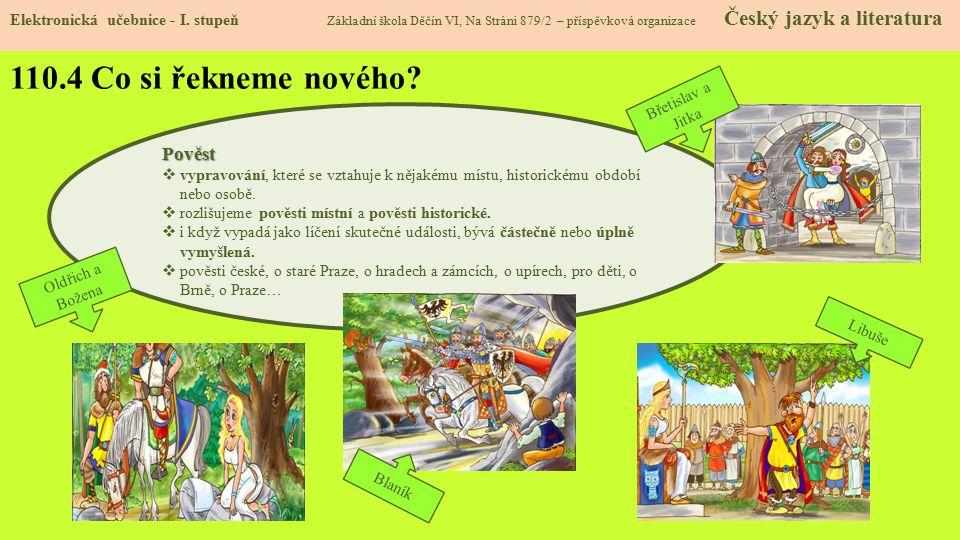 110.5 Procvičení a příklady Elektronická učebnice - I.