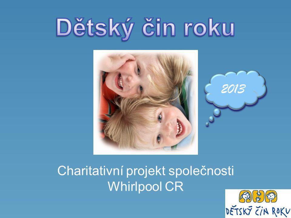 Charitativní projekt společnosti Whirlpool CR 2013