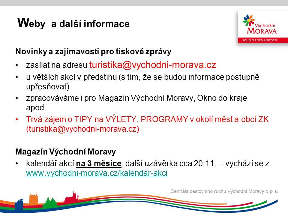 W eby a další informace Tiskoviny pro rok 2013 připravuje se výběrové řízení Veletrhy 2013 - m-ARK Marketing a reklama s.r.o.