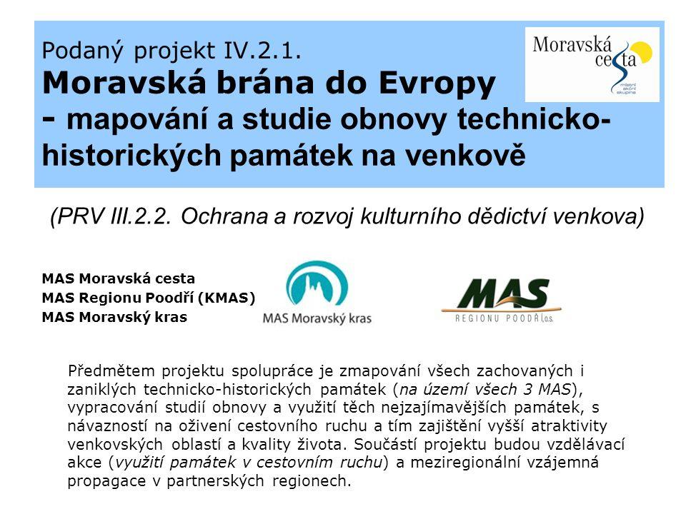 Podaný projekt IV.2.1.