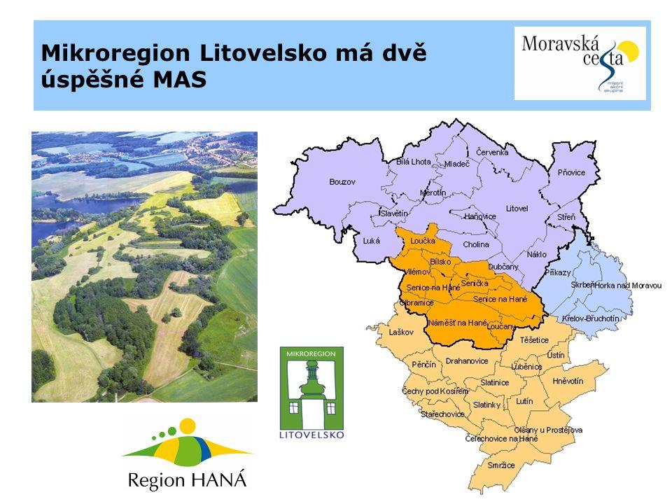 Mikroregion Litovelsko má dvě úspěšné MAS