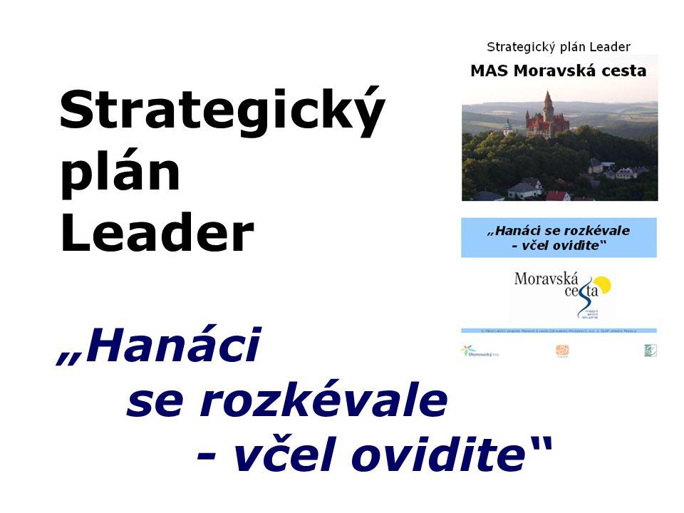 "Strategický plán Leader ""Hanáci se rozkévale - včel ovidite"