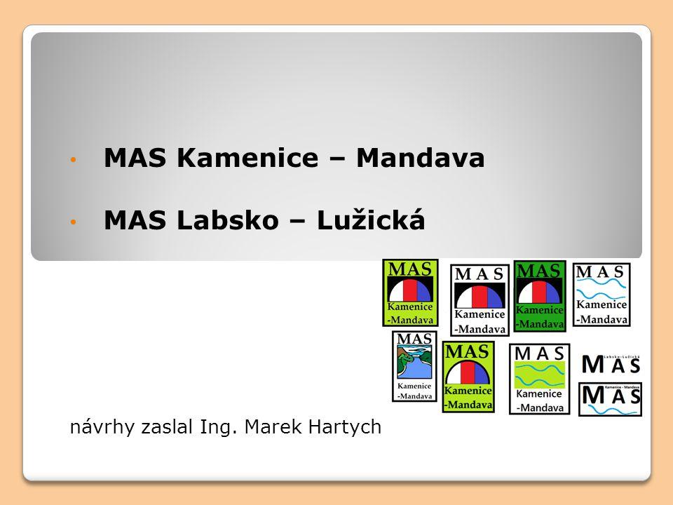 MAS Kamenice – Mandava MAS Labsko – Lužická návrhy zaslal Ing. Marek Hartych