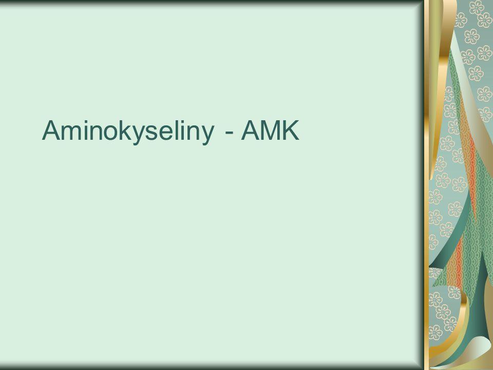 Aminokyseliny - AMK