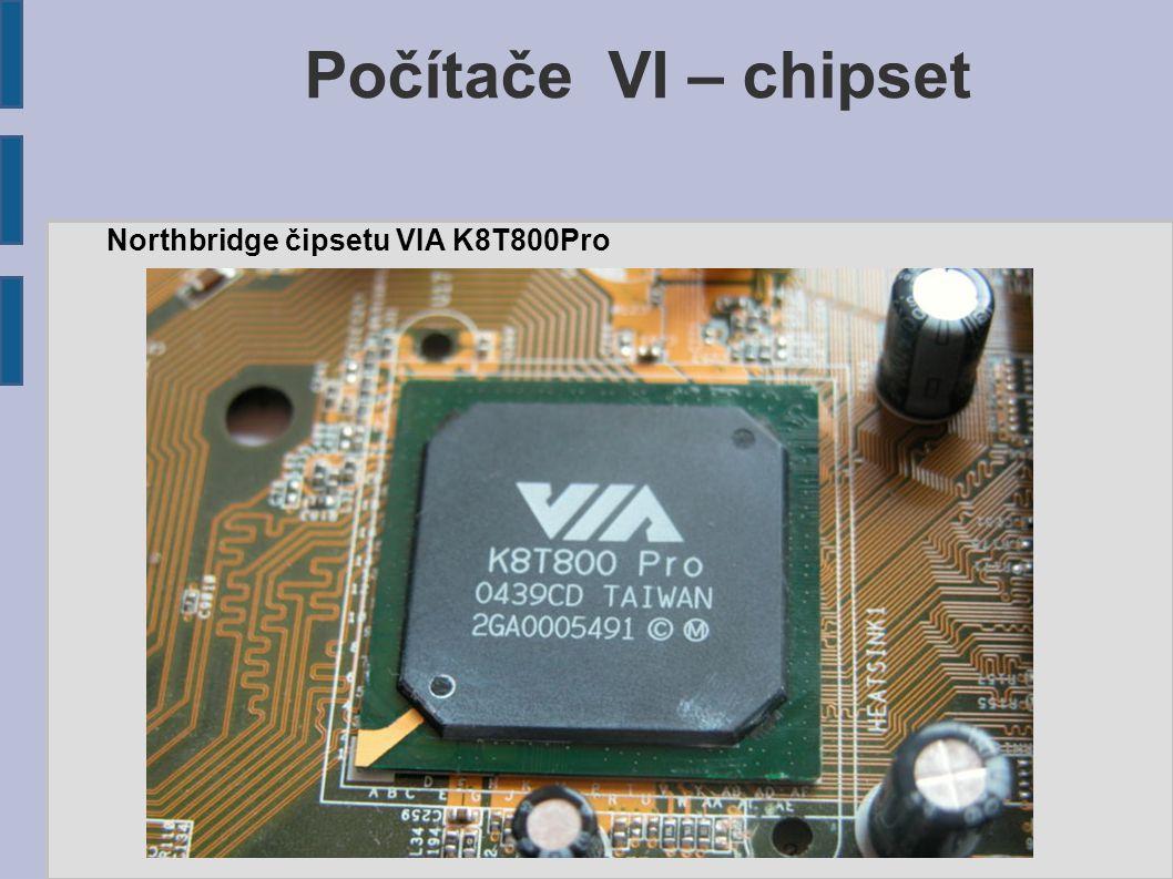Northbridge čipsetu VIA K8T800Pro