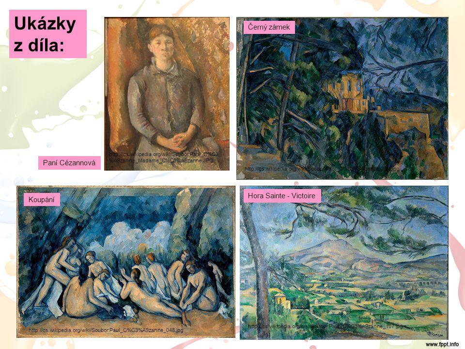 Vincent van GOGH http://cs.wikipedia.org/wiki/Soubor:VanGogh_1887_Selbstbildnis.jpg  nizozemský malíř  prožil krátký, bouřlivý, tragický život  maluje prudkými, vířivými tahy štětce, které vyjadřují vnitřní neklid malíře, nanáší husté barvy  používá čisté nelomené barvy  na jeho tvorbu měla vliv duševní nemoc