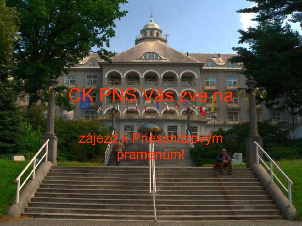 CK PNS Vás zve na zájezd k Priessnitzovým pramenům!