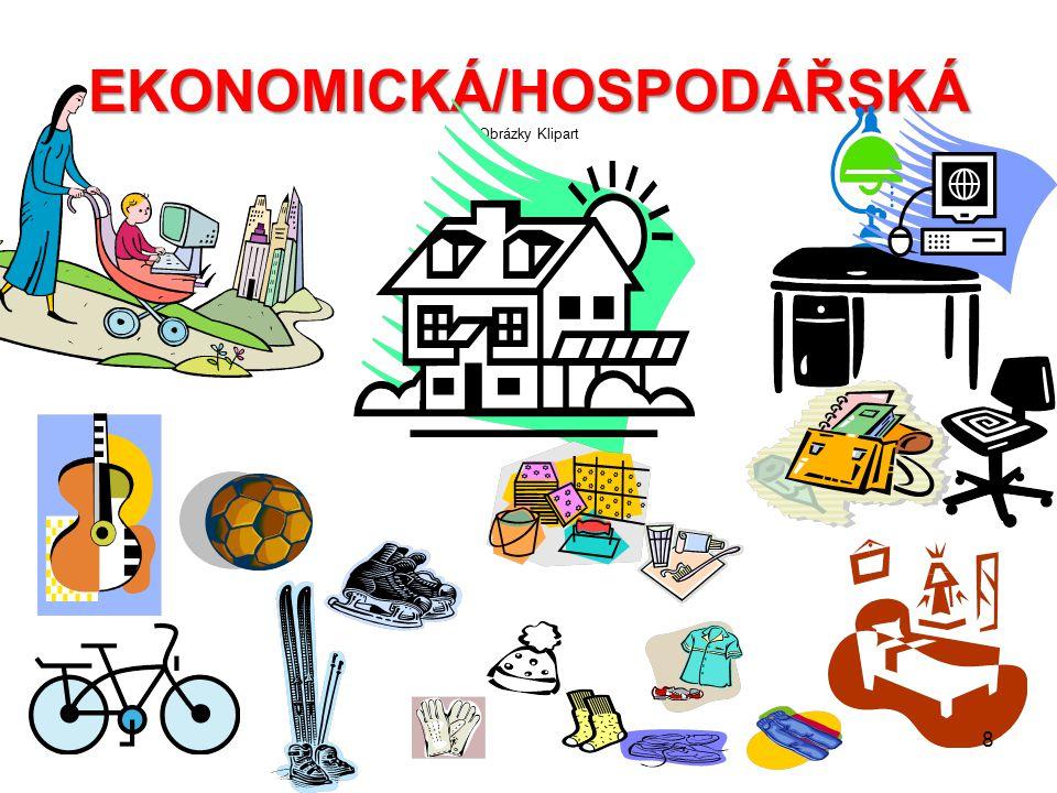 EKONOMICKÁ/HOSPODÁŘSKÁ EKONOMICKÁ/HOSPODÁŘSKÁ Obrázky Klipart 8