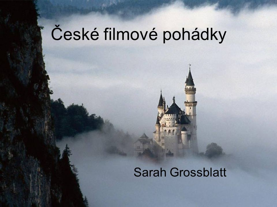 České filmové pohádky Sarah Grossblatt
