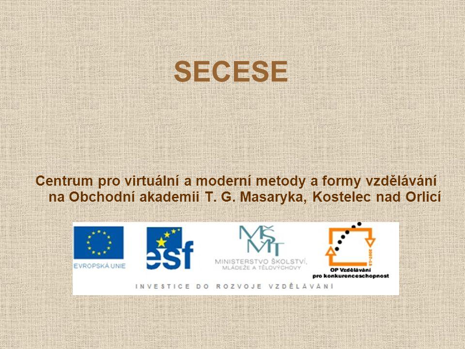 SECESE secese (z latinského secessio, tj.