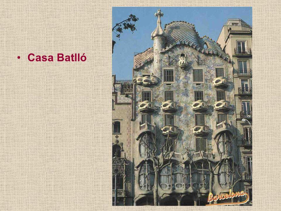 Casa Milá posměšně přezdívaná Kamenolom