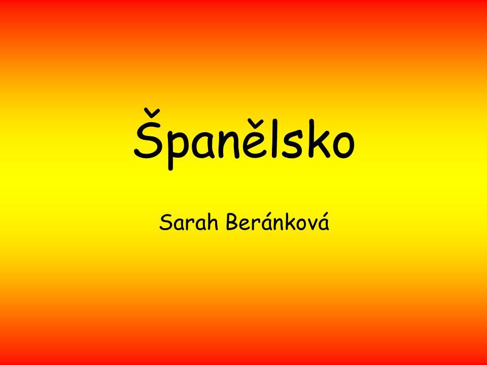 Španělsko Sarah Beránková