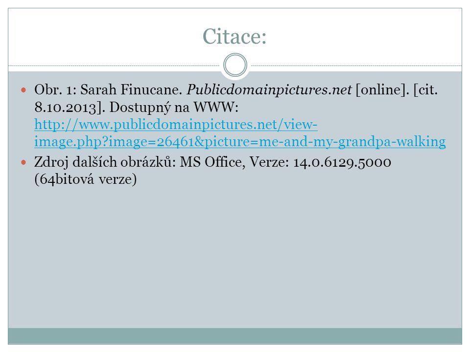 Citace: Obr. 1: Sarah Finucane. Publicdomainpictures.net [online].