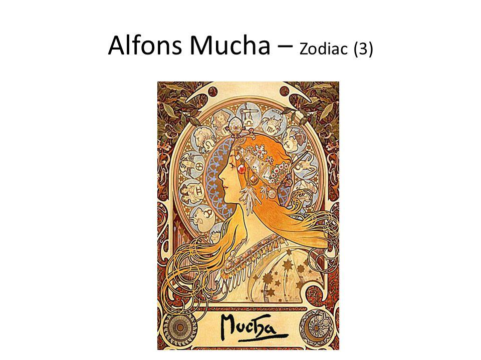 Alfons Mucha – Zodiac (3)