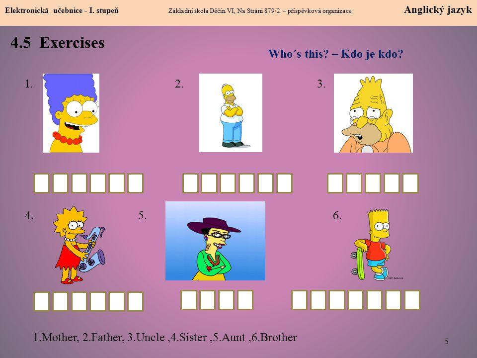 4.5 Exercises 5 Elektronická učebnice - I.