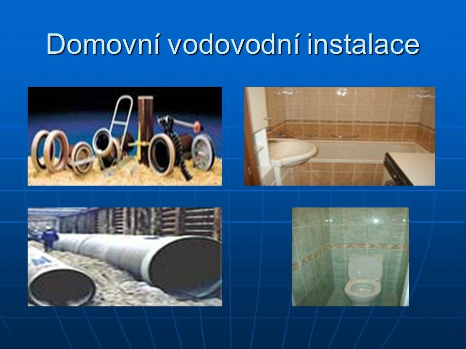 Domovní vodovodní instalace