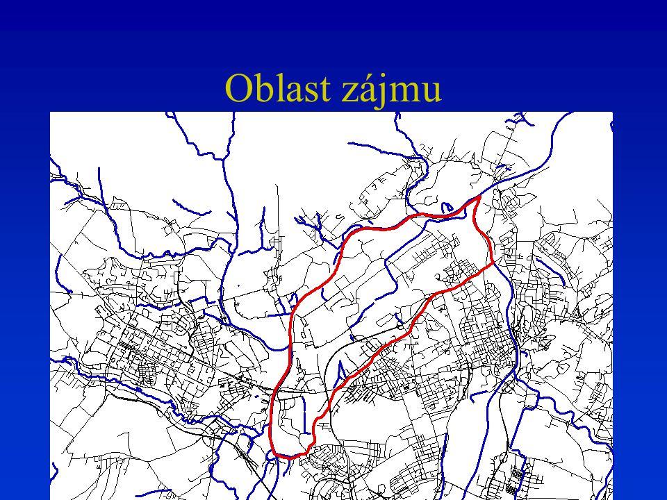 Dostupná data Model vytvořeny v rámci projektu DANCE –Projekt je zaměřen na analýzu a ochranu jímacího území Nová Ves