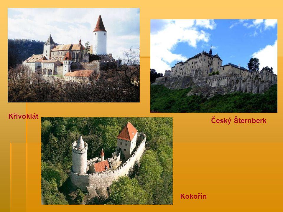 Kokořín Křivoklát Český Šternberk