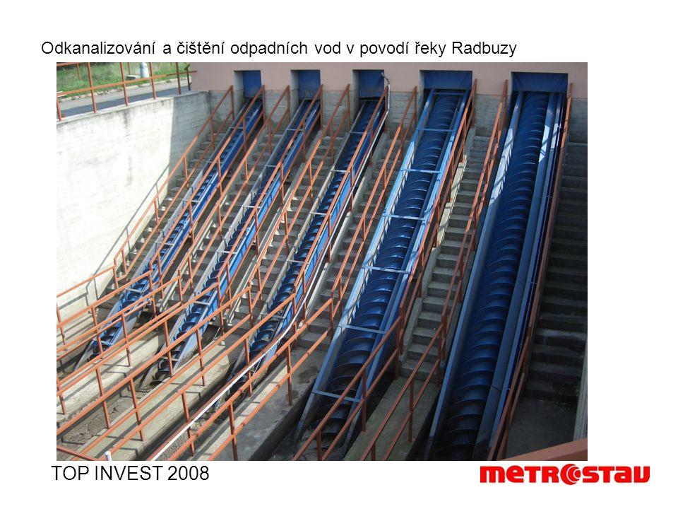 Odkanalizování a čištění odpadních vod v povodí řeky Radbuzy TOP INVEST 2008
