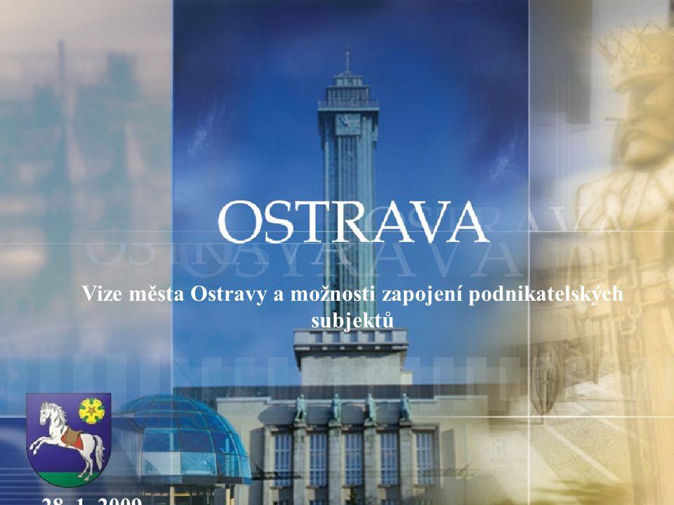 Vize města Ostravy a možnosti zapojení podnikatelských subjektů 28. 1. 2009
