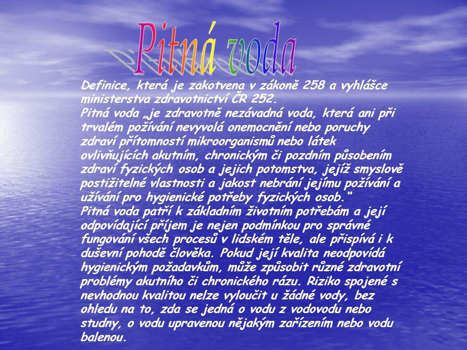 Definice, která je zakotvena v zákoně 258 a vyhlášce ministerstva zdravotnictví ČR 252.