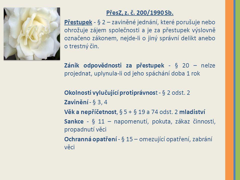 PřesZ, z. č. 200/1990 Sb.