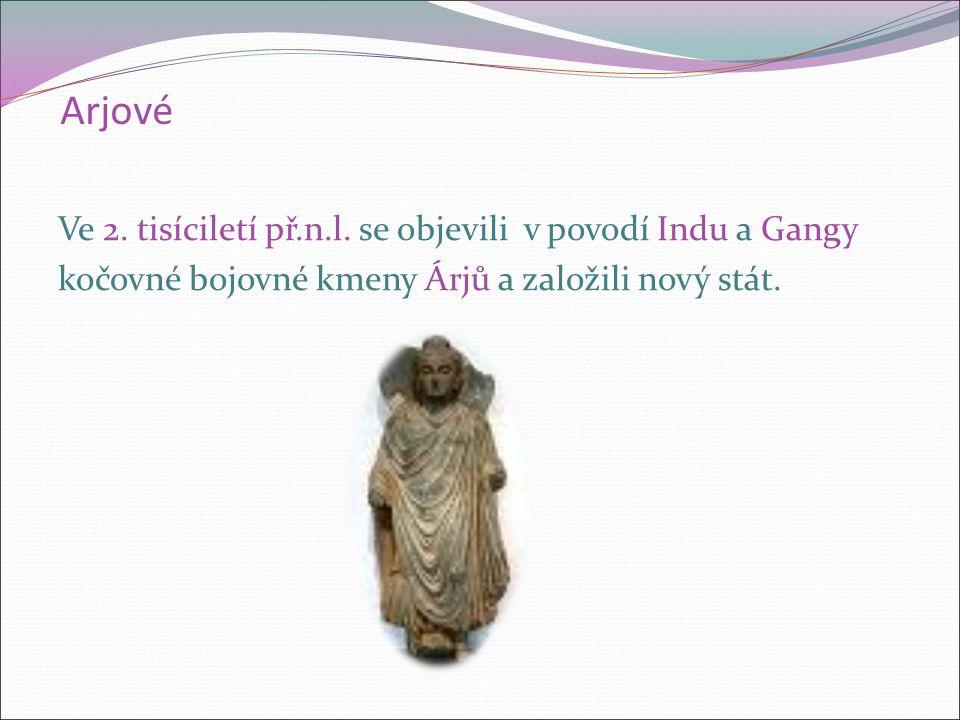 Arjové Ve 2. tisíciletí př.n.l.
