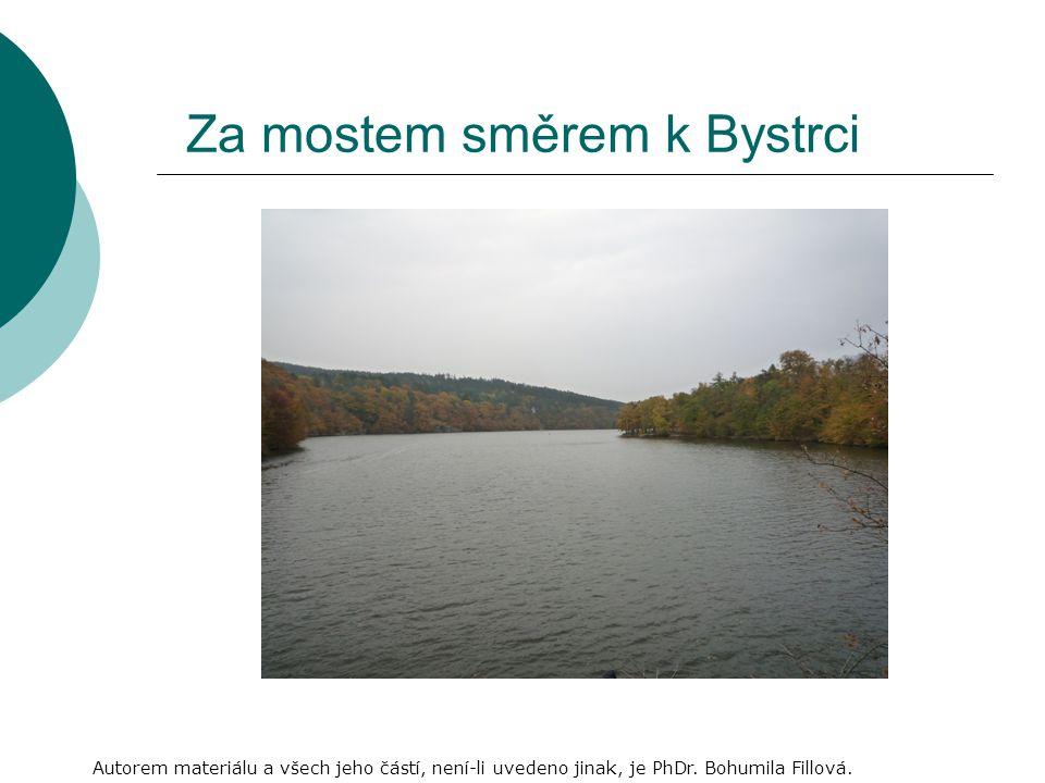 Za mostem směrem k Bystrci Autorem materiálu a všech jeho částí, není-li uvedeno jinak, je PhDr.