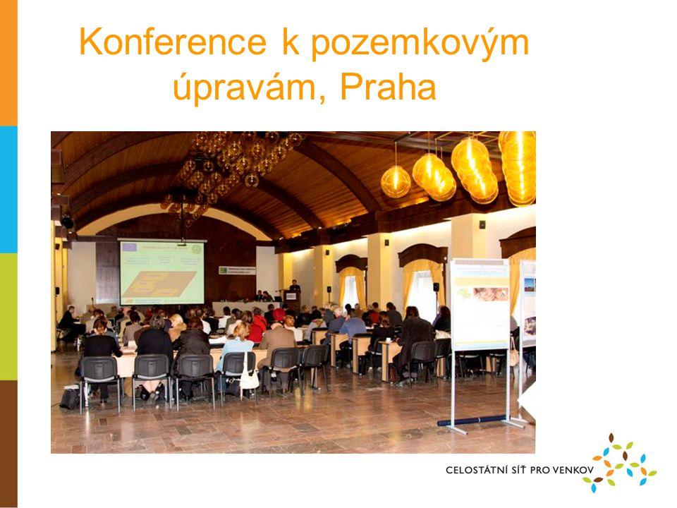 Konference k pozemkovým úpravám, Praha