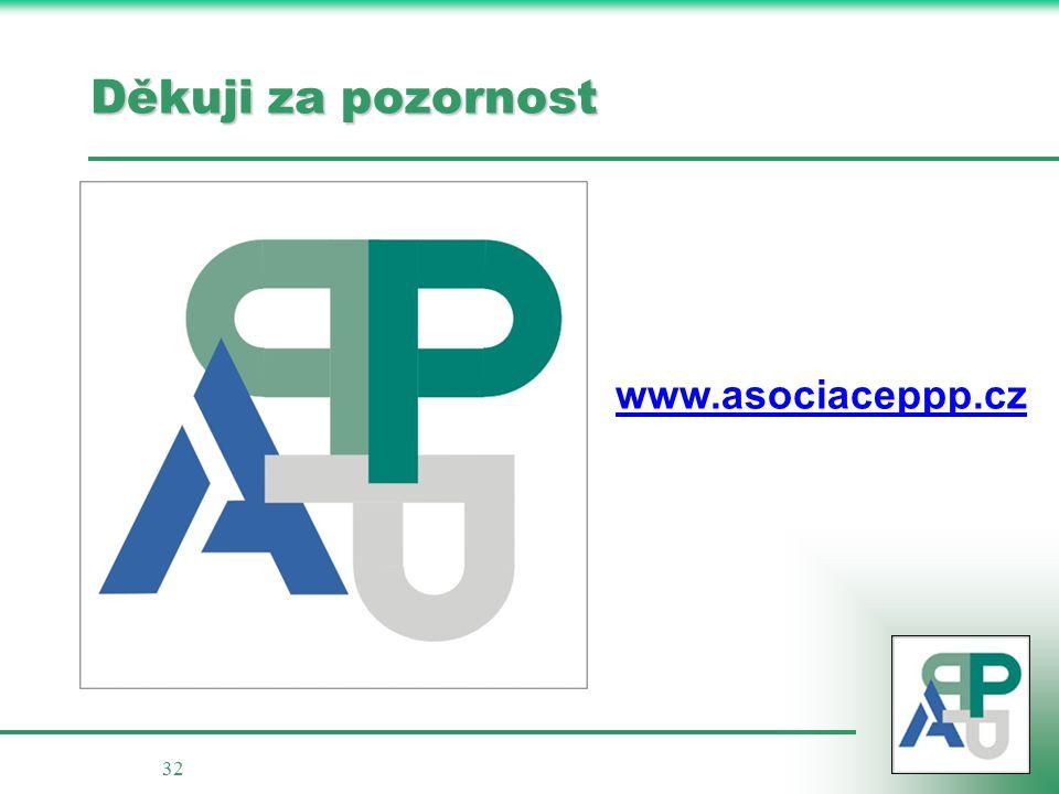 32 Děkuji za pozornost www.asociaceppp.cz