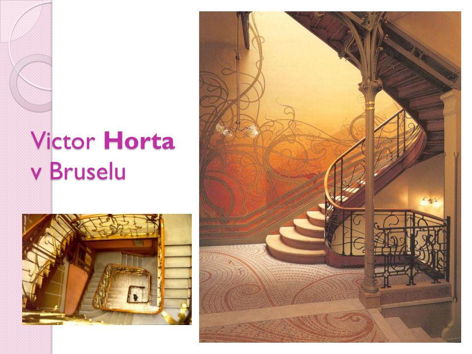 Victor Horta v Bruselu