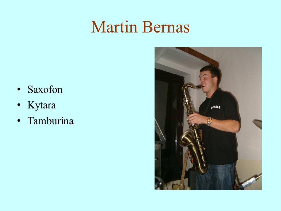 Martin Bernas Saxofon Kytara Tamburína