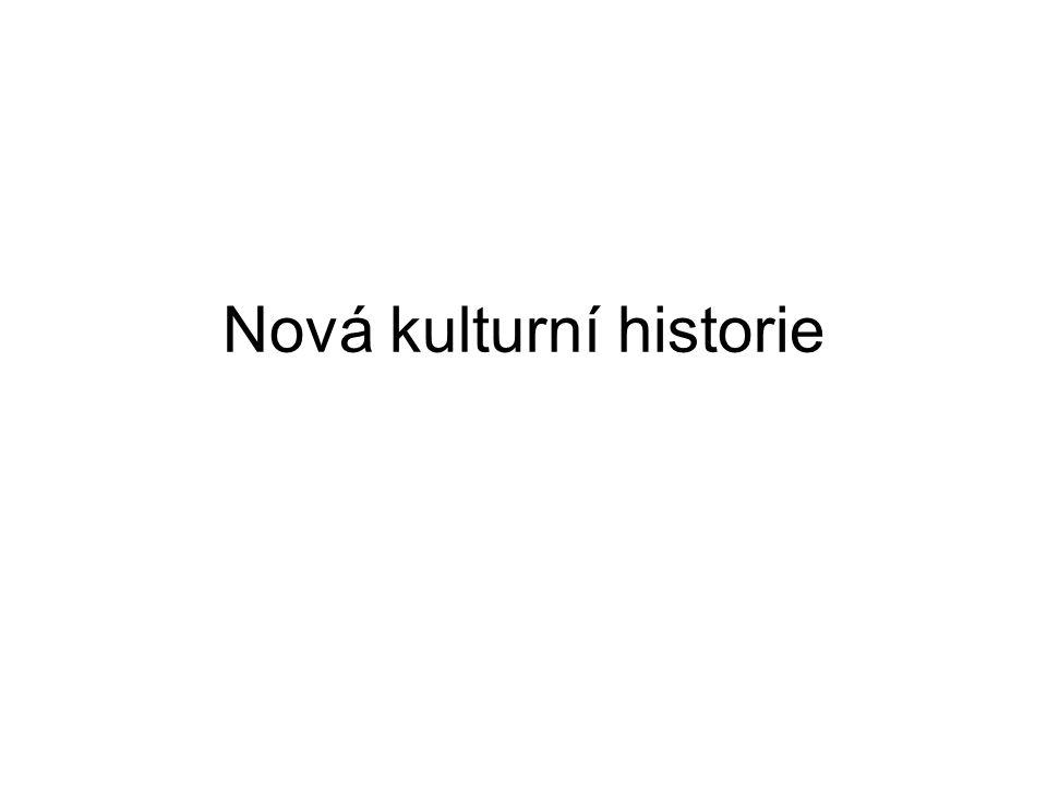 Nová kulturní historie