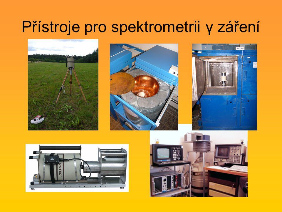 Přístroje pro spektrometrii γ záření
