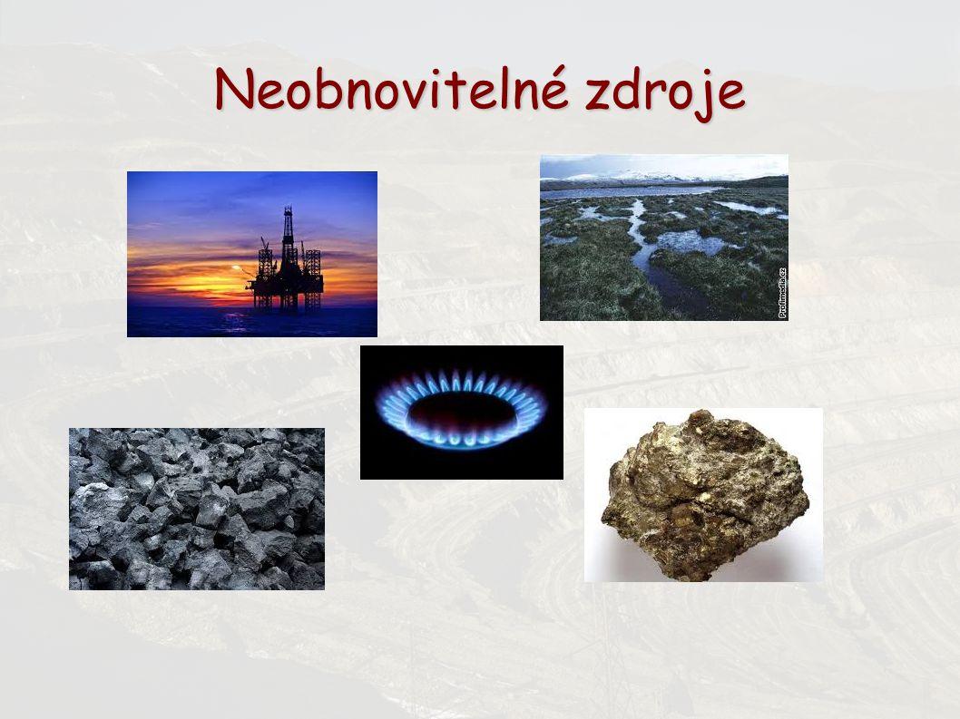 Zdroje www.wikipedie.cz www.google.cz http://www.snizujeme.cz/slovnik/neobnovitelne-zdroje-energie/ http://www.blisty.cz/art/65826.html http://www.geology.cz/personal/z/zdenka.petakova/hospodareni_s_nerostnymi_zd roji_soucasna_globalni_situac.pdf http://www.geology.cz/personal/z/zdenka.petakova/hospodareni_s_nerostnymi_zd roji_soucasna_globalni_situac.pdf http://www.national-geographic.cz/clanky/kdy-dojde-ropa-v-optimisticke-verzi-za- 60-let-a-v-pesimisticke.html#.VL3tLOZd3n4 http://www.national-geographic.cz/clanky/kdy-dojde-ropa-v-optimisticke-verzi-za- 60-let-a-v-pesimisticke.html#.VL3tLOZd3n4