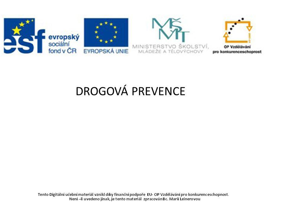 http://www.muzeumpolicie.cz/prevence/ protidrogova-prevence PROČ JE DŮLEŽITÉ O DROGÁCH HOVOŘIT?
